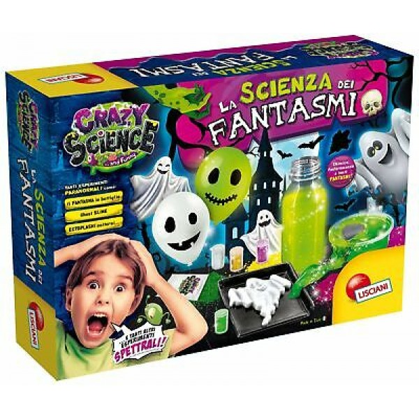 Lisciani Crazy Science Ghost # 73078